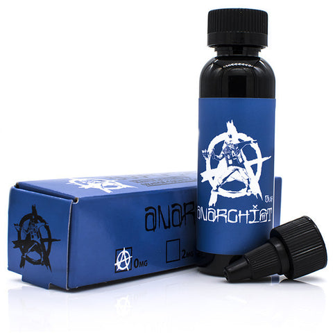 Anarchist Blue is a refreshing Blue Raspberry Slurpee Eliquid