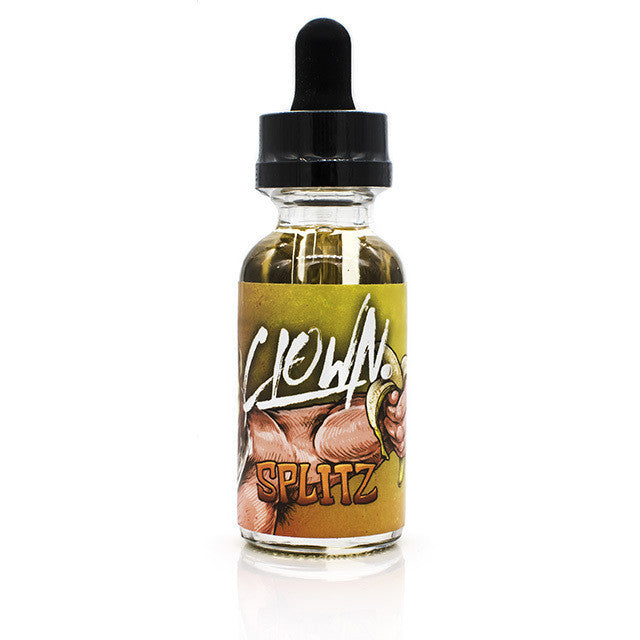 Splitz Eliquid by Clown | Banana Custard Eliquid | Banana Custard Ejuice