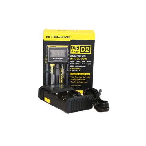 Nitecore Digicharger D2 Vapor Battery Charger
