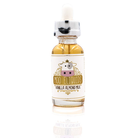 Vanilla Almond Milk Eliquid by MOO eLiquids | Almond Joy Eliquid | Almond Joy Ejuice