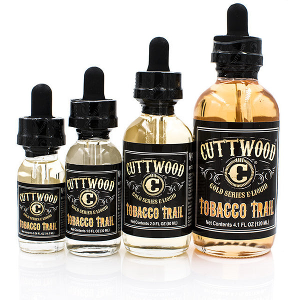 Tobacco Trail eJuice by Cuttwood | Strawberry Cream Eliquid | Strawberry Cream Ejuice