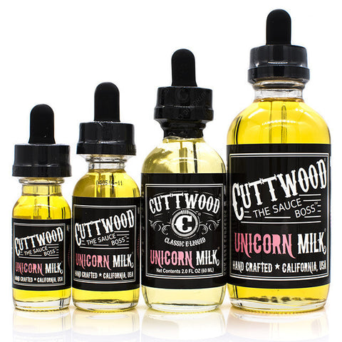 Unicorn Milk eJuice by Cuttwood | Strawberry Cream Eliquid | Strawberry Cream Ejuice