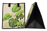 Tropical Paper Garden Hawaiian Hot/Cold Insulated Large Bag - 21 North Large Cream