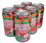 Hawaiian Sun Drink - Strawberry Lilikoi 11.5oz (Pack of 6)