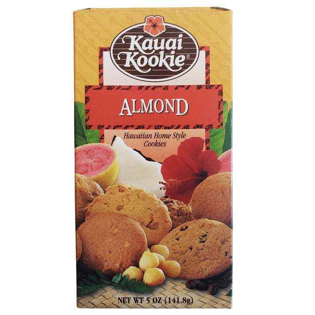 Kauai Kookie Almond Cookies 5oz