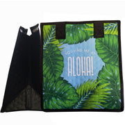 Tropical Paper Garden Hawaiian Hot/Cold Reusable Small Bag - Aloha Monstera