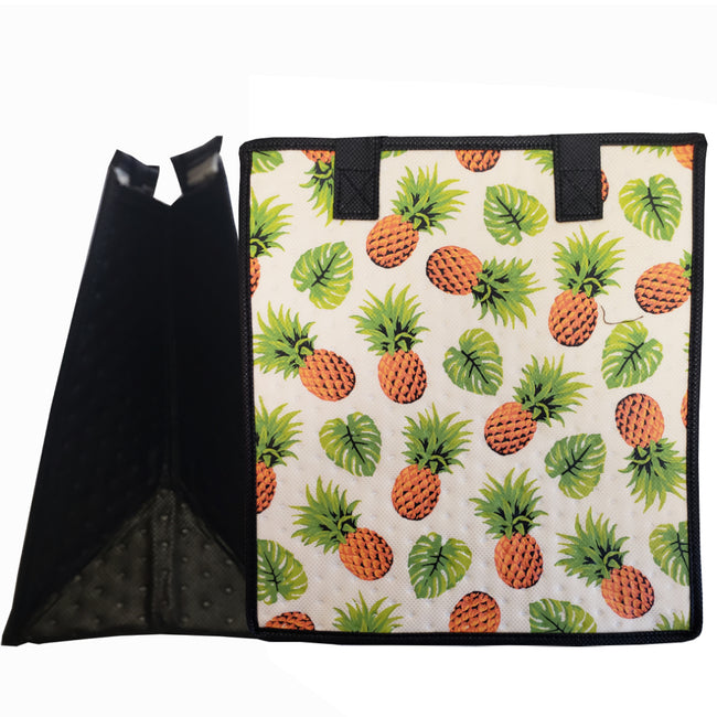 Tropical Paper Garden Hawaiian Hot/Cold Reusable Medium Bag - Ananas Cream