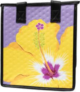 Tropical Paper Garden Hawaiian Hot/Cold Reusable Small Bag - BOLD BLOSSOM LAV