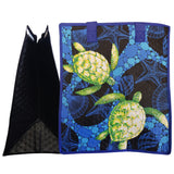 Tropical Paper Garden Hawaiian Hot/Cold Insulated Large Bag - Brah Black