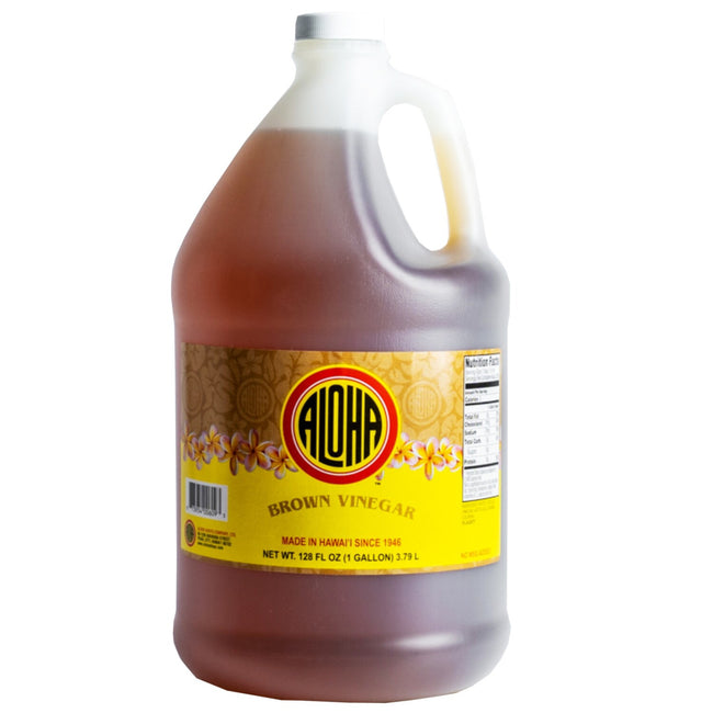 Aloha Brown Vinegar 128 oz (1 Gallon)