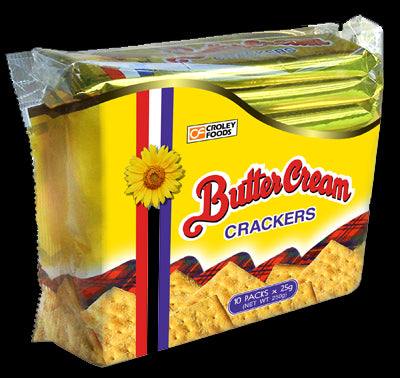 Butter Cream Crackers 10/pk 8.8oz