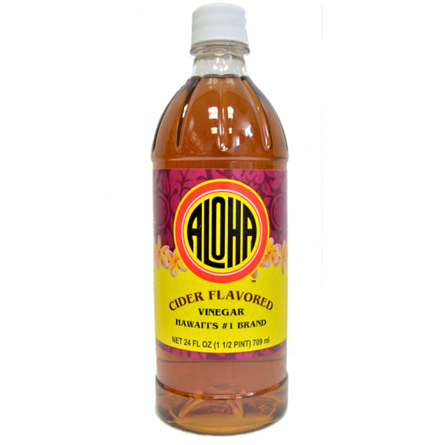 Aloha Cider Flavored Vinegar 24 oz