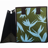 Tropical Paper Garden Hawaiian Hot/Cold Reusable Small Bag - Collection Olive