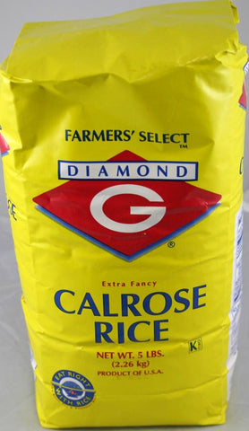 Diamond G Calrose Rice 5LB