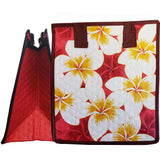 Tropical Paper Garden Hawaiian Hot/Cold Reusable Small Bag - Frangipani Red