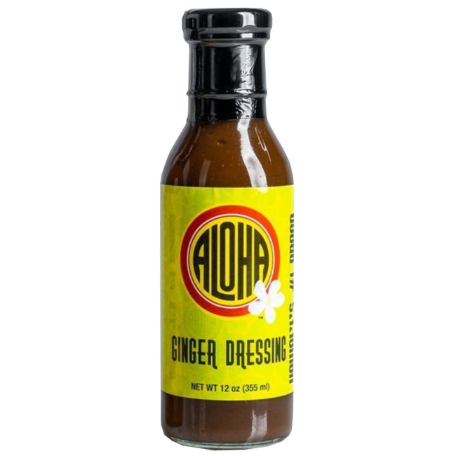 Aloha Ginger Dressing 12 oz