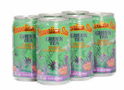 Hawaiian Sun Drink - Green Tea With Ginseng 11.5oz (Pack of 6)