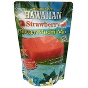 Hawaii's Best Hawaiian Strawberry Butter Mochi Mix 15 oz