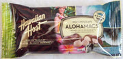 "Hawaiian Host Milk Chocolate ""ALOHAMACS"" Creamy Milk Chocolate Covered Macadamias 2PK .90oz"