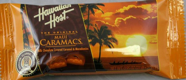 Hawaiian Host Maui Caramacs 2PK .95oz