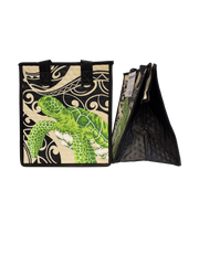 Tropical Paper Garden Hawaiian Hot/Cold Reusable Small Bag - Kupaa Cream