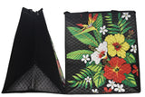 Tropical Paper Garden Hawaiian Hot/Cold Insulated Large Bag - Lolli Black