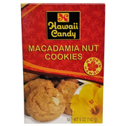 Hawaii Candy Macadamia Nut Cookies 5 oz