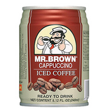 Mr. Brown Cappuccino Iced Coffee 8.12oz