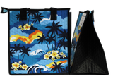 Tropical Paper Garden Hawaiian Hot/Cold Reusable Medium Bag - ONLY YOU SKY