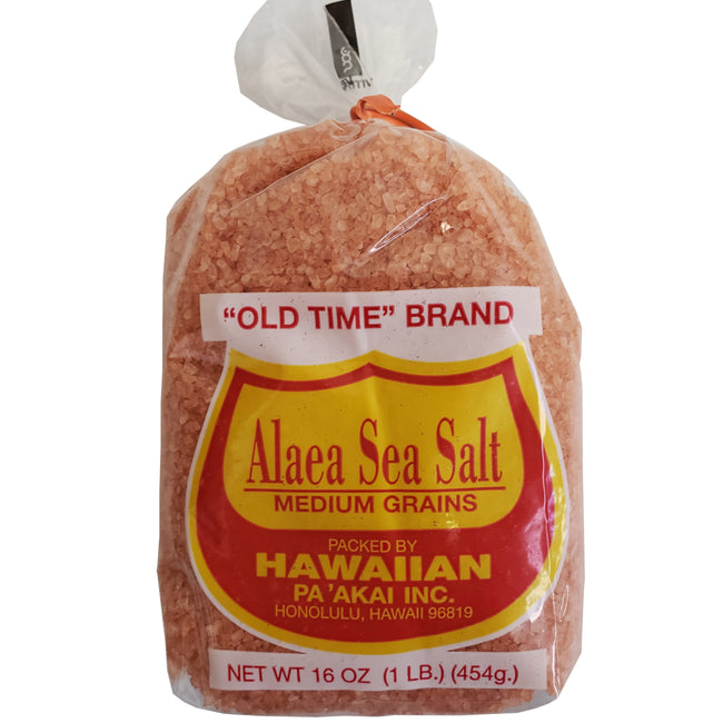Old Time Alaea Sea Salt 1LB