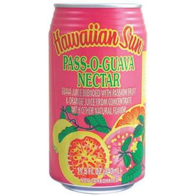 Hawaiian Sun Drink - Pass-O-Guava 11.5oz (Pack of 6)
