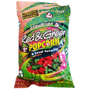 Hawaiian Hurricane Pre-Popped Popcorn Red and Green 6.0 oz