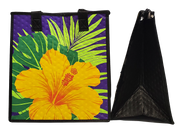 Tropical Paper Garden Hawaiian Hot/Cold Reusable Medium Bag - Subliminal Purple