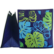 Tropical Paper Garden Hawaiian Hot/Cold Reusable Small Bag - Shallow Navy