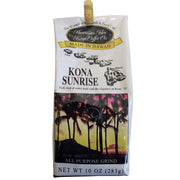 Hawaiian Isles Kona Coffee Sunrise Ground Coffee 10oz