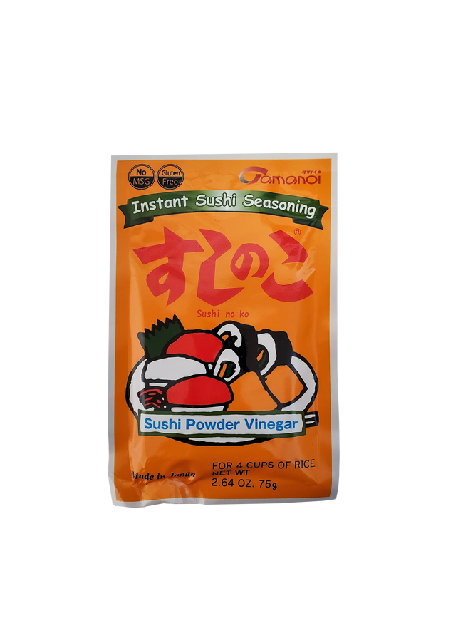 Tamanoi Sushi No Ko Instant Sushi Seasoning-Sushi Powder Vinegar 2.64 oz.