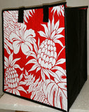 Tropical Paper Garden Hawaiian Hot/Cold Insulated Large Bag- Timbuk 2 Red