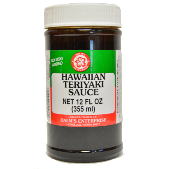 Halm's Hawaiian Teriyaki Sauce 12oz