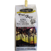 Hawaiian Isle Kona Coffee Vanilla Macadamia Nut Ground Coffee 10oz