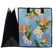 Tropical Paper Garden Hawaiian Hot/Cold Insulated Large Bag - Vince Sky