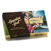"Hawaiian Host Milk Chocolate ""ALOHAMACS"" Creamy Milk Chocolate Covered Macadamias 14oz"