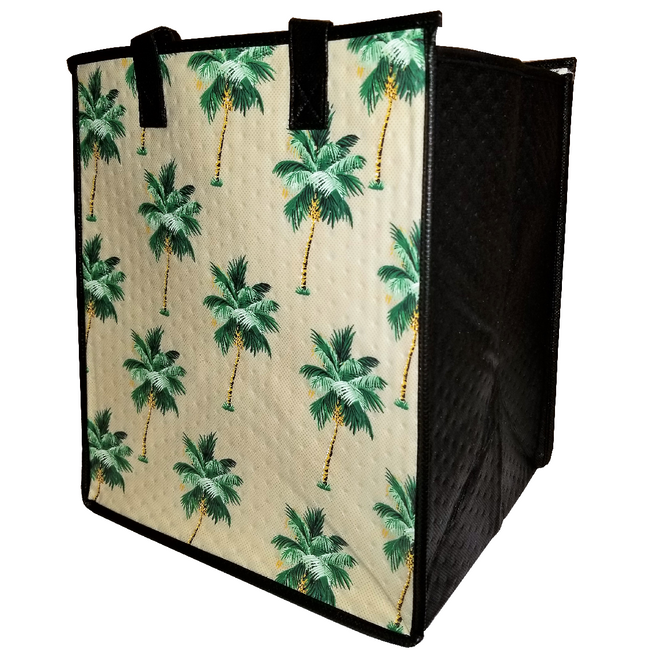 Tropical Paper Garden Hawaiian Hot/Cold Insulated Large Bag - Aulani Cream