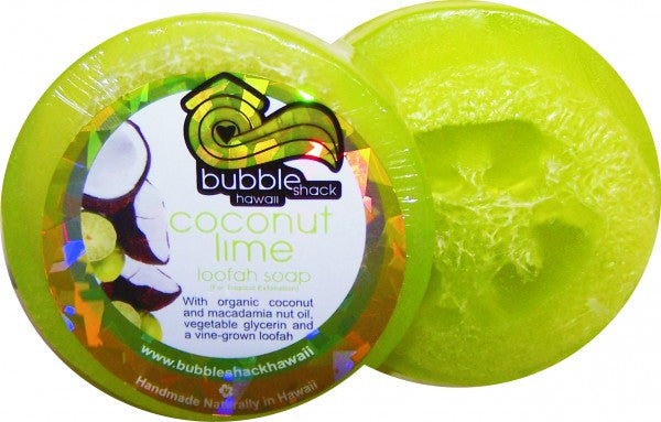Bubble Shack - Coconut Lime Verbena Loofah Lather 3.5oz