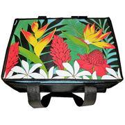 Tropical Paper Garden Hot/Cold Reusable Large Casserole Bag - Garden Border Sky
