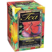 Hawaiian Islands Tea Co. Hibiscus Honey Lemon Tea 20CT/EA 1.27oz