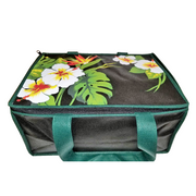 Tropical Paper Garden Hot/Cold Reusable Large Casserole Bag - Kinohi Black