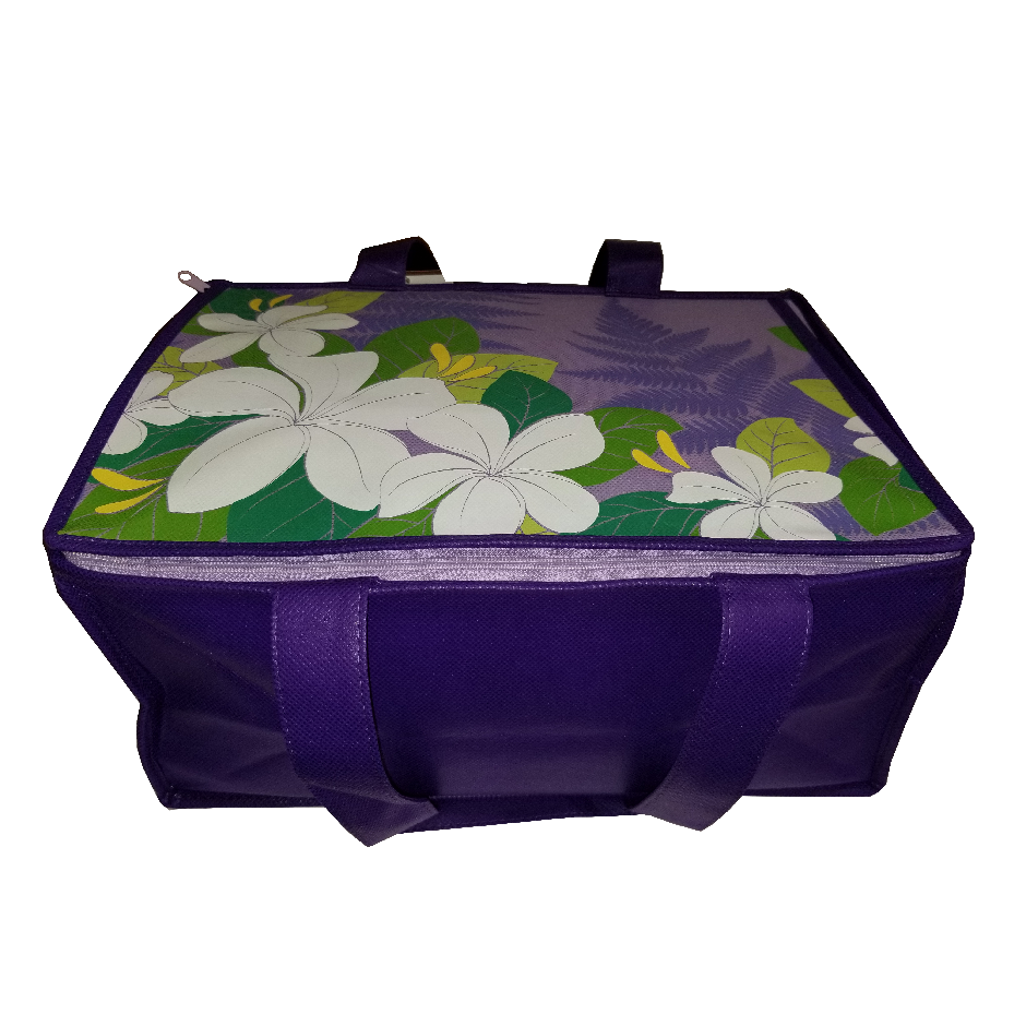 Tropical Paper Garden Hot/Cold Reusable Large Casserole Bag - Hope Lavender