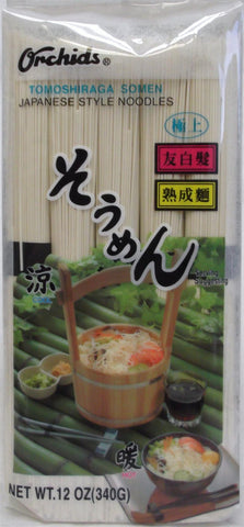 Orchids Tomoshiraga Somen Japanese Style Noodles 12oz