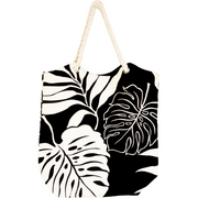 Tropical Paper GardenKawika Canvas Tote Bag - Pali