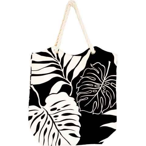 Tropical Paper Garden  Kawika Canvas Tote Bag - Pali
